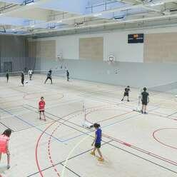 Le gymnase du Collège Audin mutualisé pour les associations sportives